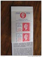 FRANCE P2864A **  NO YV 2864+2863a + VIGNETTE  DU CARNET   BC 2865    JOURNEE DU TIMBRE1994 - Neufs