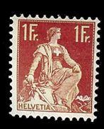 SUISSE 1907   Yv 126* Mi 109* Zu 115* - Suisse