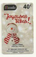CARTE CADEAU ILLICADO  40  EUROS  VIDE - Gift Cards
