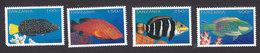 Tanzania, Scott #1490-1493, Mint Hinged, Fish, Issued 1996 - Tanzania (1964-...)