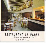 RESTAURANT LA PANSA - GERONA - Autres Collections