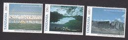Tanzania, Scott #1510-1512, Mint Hinged, UNESCO, 50th Anniversary, Issued 1996 - Tanzania (1964-...)