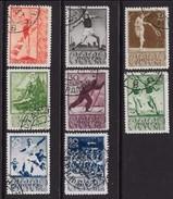 RUSSIA URSS - 1938 - Sport Diversi - N. 690 / 97 Usati , Serie Compl. - Cat. 32 € - Lotto N. 4281 - Usati