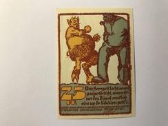 Allemagne Notgeld Ribnitz 25 Pfennig - [ 3] 1918-1933 : Weimar Republic