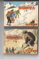 Tintin Au Tibet - 2 Volumes En Chinois - Libri, Riviste, Fumetti
