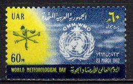 Egypte - Poste Aérienne - 1961 - Yvert : PA 86 ** - Journée Météorologique Mondiale - Poste Aérienne