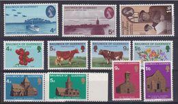 1970 Guernsey ANNATA  YEAR Completa Di 11 Valori (23/33) MNH** - Guernesey