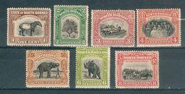 GRANDE BRETAGNE ; BORNEO ; 1909-1911 ; Lot : 03 ; Neuf - Bornéo Du Nord (...-1963)