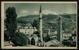 RB 1179 - Early Postcard - Sarajevo Bosnia & Herzegovina - Omladinska Knjizara - Bosnia And Herzegovina