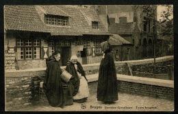 RB 1179 - Early Ethnic Postcard - Derriere Gruuthuse - Bruges Brugge Belgium - Brugge