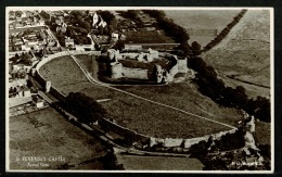 RB 1179 - Real Photo Postcard - Aerial View Of Pevensey Castle Sussex - Inglaterra
