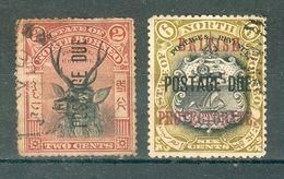 GRANDE BRETAGNE ; BORNEO ; Taxe ; 1897-1905 ; Lot : 04 ; Oblitéré - Bornéo Du Nord (...-1963)