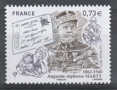 France, A-A. Marty, WWI, Military Mail  2017, MNH VF - Unused Stamps