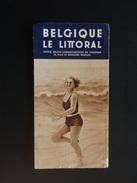 BELGIQUE LITTORAL VERS 1930 - Dépliants Touristiques
