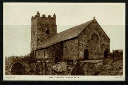 RB 1179 - Raphael Tuck Postcard - The Church Boscastle - Cornwall - England