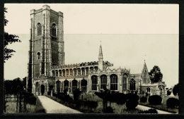 RB 1179 - Early Real Photo Postcard - S.S. Peter & Paul Church - Lavenham Suffolk - Inglaterra
