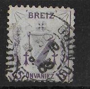 1903 - COTES DU NORD - TIMBRE VIGNETTE REGIONAL PROPAGANDE BREIZ (BRETAGNE) OBLITERE - Erinnophilie