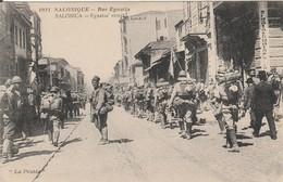 CPA : SALONIQUE  Rue Egnatia - Weltkrieg 1914-18