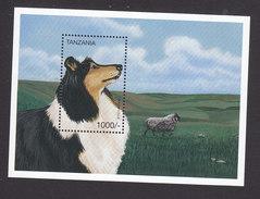 Tanzania, Scott #1528, Mint Never Hinged, Dog, Issued 1996 - Tanzania (1964-...)