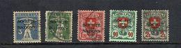 SWITZERLAND...League Of Nations - Dienstzegels