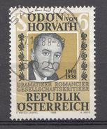Autriche 1988 Mi.Nr: 1926 Todestag Von Ödon Von Horváth  Oblitèré / Used / Gebruikt - 1981-90 Oblitérés