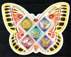 BOTSWANA, 2000, BUTTERFLIES M/S. MNH** - Vlinders