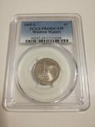 EEUU Moneda De 5 Céntimos De 2005 Ceca S - Jefferson Nickel Conmemorativa Western Waters - PCGS PR69DCAM - Federal Issues