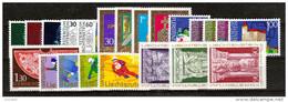 LIECHTENSTEIN  Xx  1975   ANNATA  COMPLETA   -  Postfrisch    -     Vedi  Foto ! - Vollständige Jahrgänge