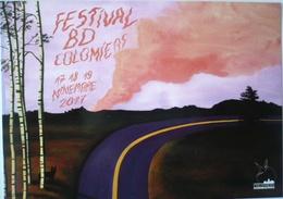 CP / FESTIVAL BD COLOMIERS 2017 /  Illustration : Grandjouan / NEUF ! - Bandes Dessinées