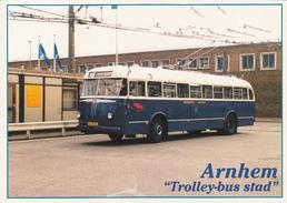 BUSSES - Netherlands - Arnhem - 1949 BUT Trolleybus Verheul EEC Type 410/B - Autobús & Autocar