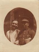 16 Photos Souvenir Militaire De L'officier Caron De Gand - Guerre, Militaire