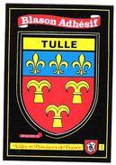 BLASON ADHESIF - TULLE - CORREZE - ECRITE - Tulle