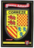 BLASON ADHESIF - CORREZE - France