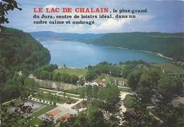 CPM. LE LAC DE CHALAIN . AFFR LE 21-8-1989 AU VERSO . 2 SCANES. 2 SCANES - Frankreich