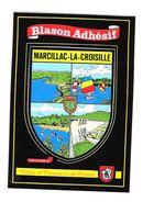 BLASON ADHESIF - MARCILLAC LA CROISILLE - Other Municipalities