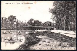 A9174 - Halle A. Saale - Partie An Der Peissnitzbrücke - Gel 1912 - Louis Glaser - Halle (Saale)