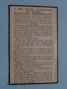 DP Juf. Sidonie MISSIAEN Brugge 15 Dec 1866 - 25 Nov 1934 ( Zie Foto's ) ! - Décès
