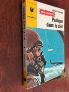BOB MORANE N° 034   PANIQUE DANS LE CIEL   Henri Vernes   MARABOUT JUNIOR - 1962 - Bücher, Zeitschriften, Comics
