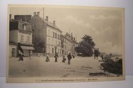 CONFLANS-SAINTE-HONORINE    --- Rue  Basse - Conflans Saint Honorine
