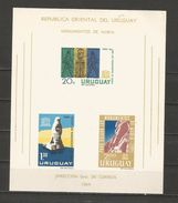 Feuillet 1964 Poste Aérienne - Uruguay