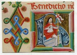 CHRISTIANITY - AK 306331 Initiale Aus Dem Ellwanger Missale - Auferstehung Christi - Jésus