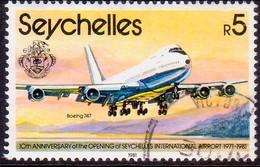 SEYCHELLES 1981 SG #517 5r Used Aircraft - Seychelles (1976-...)