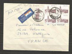 Enveloppe Affranchie à Durban  En 1990 - Non Classés