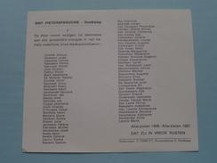 """SINT - PIETERSPAROCHIE """" OOSTKAMP """" Allerzielen 1966 - 1967 ( Zie Foto's ) ! - Décès"""