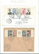 2 L Avec Bande Compléte.....1964 Philatec..et 1971 Charles De Gaulle..................à Voir - 1961-....