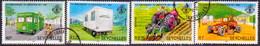 SEYCHELLES 1982 SG #533-36 Compl.set Used 5th Anniv Of Liberation - Seychelles (1976-...)