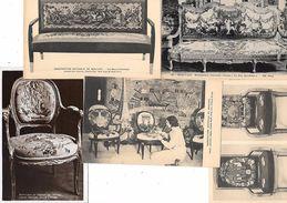 METIERS D'ART - BRODERIE Et EBENISTERIE - MANUFACTURE NATIONALE DE BEAUVAIS - Lot De 5 Cartes -CANAPES CHAISES FAUTEUILS - Other