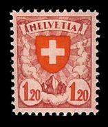 SUISSE 1924 Yv 209*  Mi 166* - Suisse
