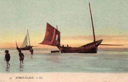 BERCK -  Bateaux à Marée Basse - Berck