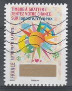 """France, Greetings, Lottery Stamp """"Sun, Moon And Clouds"""", 2016, VFU Self-adhesive - Frankrijk"""